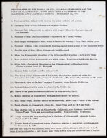 List of photographs of the family of Colonel Allen Allensworth and the town of Allensworth, prepared by Miriam Matthews, 1986