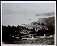 Fort McDowell when Colonel Allen Allensworth was stationed there, San Francisco, circa 1900
