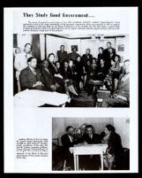 Flier for the Los Angeles County Negro Democratic Club, circa 1937