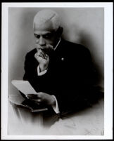 Allen Allensworth reading, circa 1913