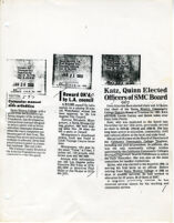 Newspaper Clippings featuring Santa Monica College
