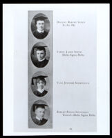 Dr. Vada Somerville in a USC yearbook, 1918