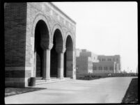Chemistry Building (Haines Hall) with Physics Biology Building (Humanities Building) in background, c.1930