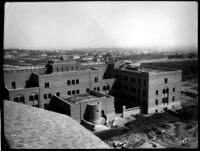 Physics-Biology Building (Humanities Building) viewed from Library (Powell Library), c.1928