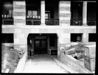 Chemistry Building (Haines Hall) receiving dock, c.1929