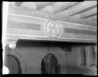 Royce Hall foyer ceiling detail, c.1930