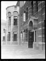 Royce Hall north side entrance, c.1930