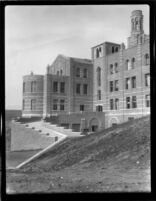 Royce Hall's west side, 1928
