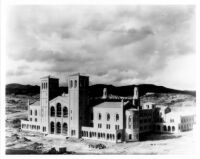 Royce Hall under construction, c.1928