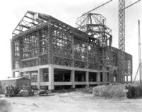 Library (Powell Library) under construction, 1928