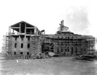 Library (Powell Library) under construction (south side), 1928