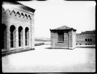 Library (Powell Library) roof view looking east, 1928