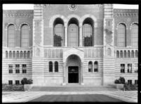 Library (Powell Library) entrance, c.1930