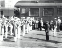 Bruin Band with John Phillip Sousa, 1928