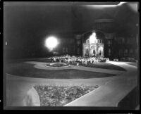 Vermont Avenue campus - Alumni Spring Banquet, 1928