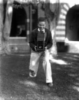 Thelner Hoover with camera, c.1929