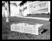 Physics Biology Building (Humanities Building) model, c.1928