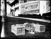 Physics-Biology Building (Humanities Building) model, c.1928