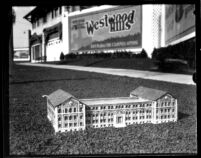 Chemistry Building (Haines Hall) model, c.1928
