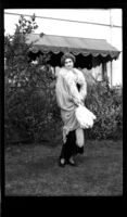 Sorority member in costume for skit, c.1930