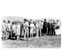 Groundbreaking at Westwood Campus, 1927