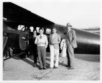 Aerial photography crew, 1929