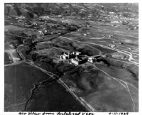 Aerial view of UCLA and Westwood Hills, 1929