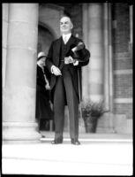 Dedication ceremony - William W. Campbell, 1930