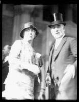 Dedication ceremony - William W. Campbell and Elizabeth Campbell, 1930