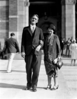 Dedication ceremony - Earle R. Hedrick and Helen Hedrick, 1930