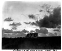 Looking west from UCLA, 1929