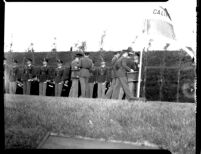 Commencement - Military commissions, c.1941