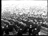 Commencement - Graduates seated, c.1941