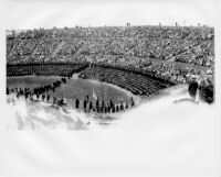 Commencement at the Open Air Theater, c.1941