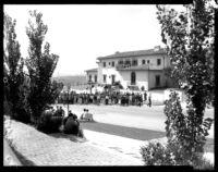 Hershey Hall dedication - Onlookers, 1931