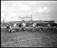 Football game, 1931