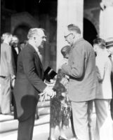 Dedication ceremony - William W. Campbell and Ernest C. Moore, 1930