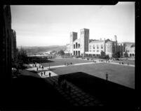 Royce Hall and Esplanade, c.1934