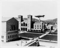Goodyear Blimp over UCLA, c.1931
