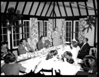 Alumni event at Lake Arrowhead - Dinner speeches, 1944