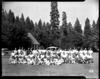 Alumni event at Lake Arrowhead - Group portrait, 1944