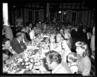 Alumni event at Lake Arrowhead - Dinner, 1944