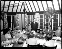 Alumni event at Lake Arrowhead - Dinner speeches, 1944