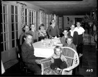 Alumni event at Lake Arrowhead - Children, 1944