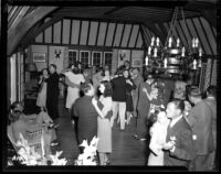 Alumni event at Lake Arrowhead - Dancing, 1944