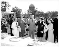 Founders Day celebration at the Clark Memorial Library, 1948