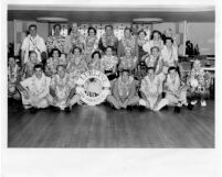 Alumni Association on trip to Hawaii, 1951
