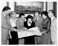 Alumni Association planning trip abroad, 1952