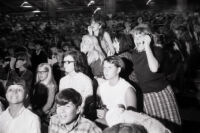 Audience during Beatles August 15, 1966 Washington D.C. performance at D.C. Stadium