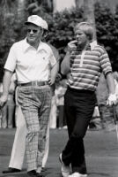 President Gerald Ford golfing with golf professional Jack Nicklaus